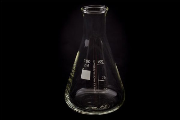 Erlenmeyer borosilicaat NH 100 ml