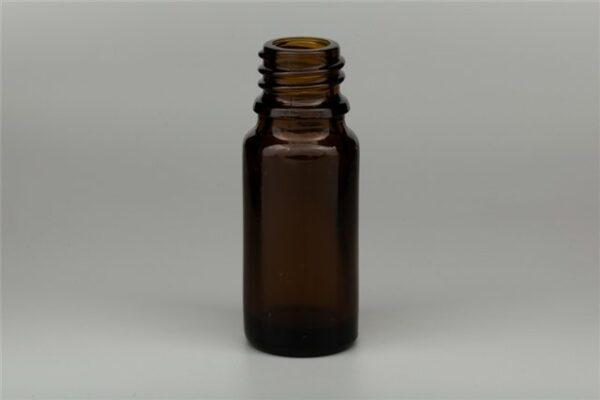 Fles AMBER DIN18 bruin glas 10 ml
