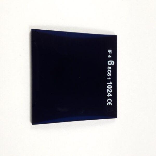 Kobaltglas 5x5 cm
